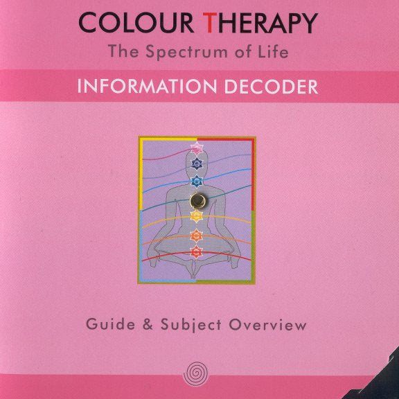 Color Therapy Information Decoder Wheel