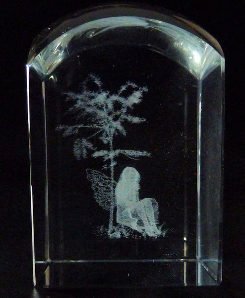Fairy and Tree Dome Crystal