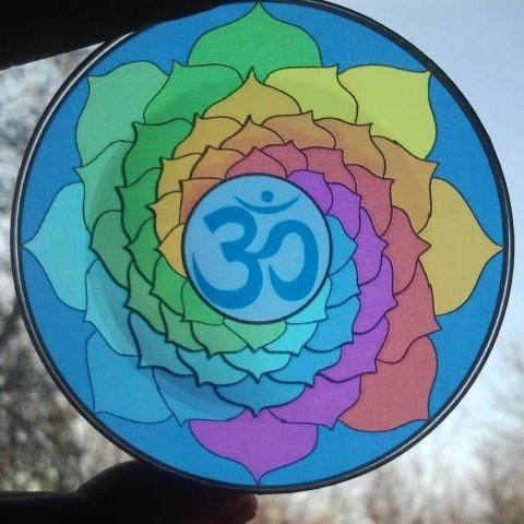Spiritual Energy Disc: Chakra OM Meditation and Relaxation Disc