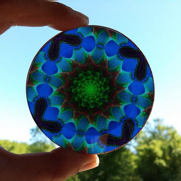 Spiritual Energy Disc: Heart Healing and Aura Protection