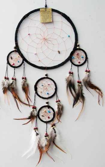 Dream Catcher - Black Suede