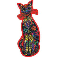 Bali Cat Harmony Fridge Magnet