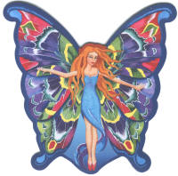 Fairy Harmony Fridge Magnet