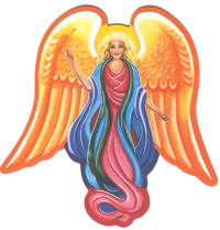 Angel Harmony Fridge Magnet