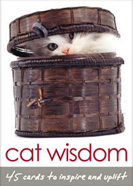 Cat Wisdom Oracle Cards - The Power of the Wise Feline in a Deck of Cards