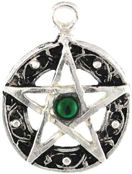 Pentacle Amulet with Endless Celtic Knot