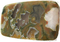 Rainforest Jasper Tumbled Gemstone