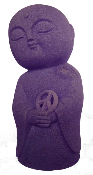 Jizo of Peace Purple