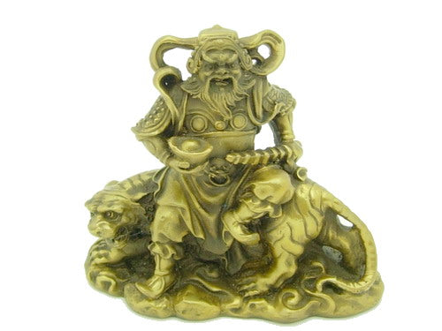 Chinese Military Wealth God Feng Shui Symbol