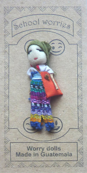 Worry Doll - School
