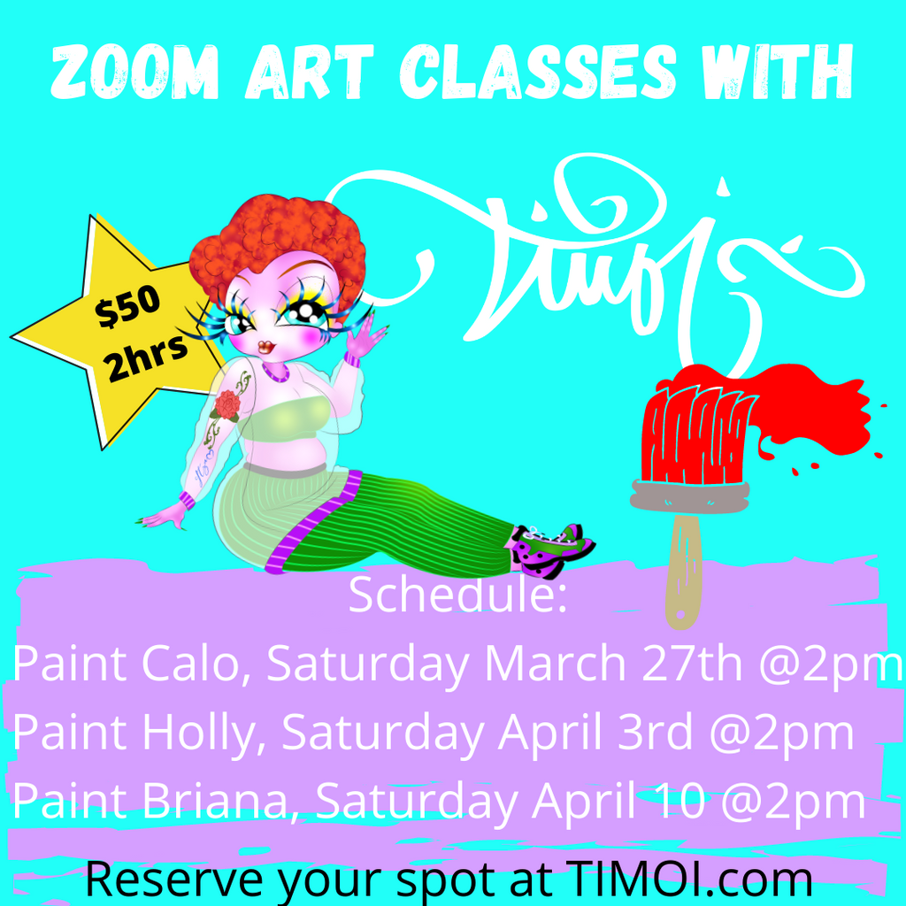 The, Painting With TIMOI Classes, are here bb's! Sign Up Today!