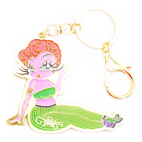 Briana Open Edition Quality Metal Key Chain