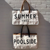 Poolside and Summer Vibes Tote