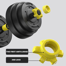 Load image into Gallery viewer, Adjustable Weights Dumbbells Set, Free Weights Set With Connecting Rod