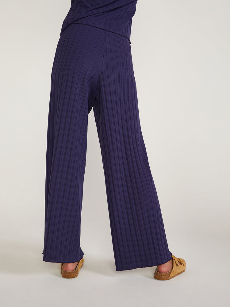Load image into Gallery viewer, Cazh Stretch Organic Cotton Rib Pants