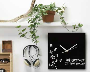 The whatever clock