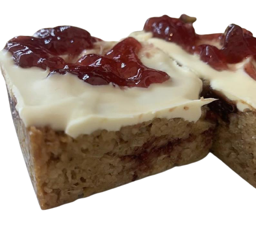 White Chocolate and Raspberry Flapjack (Box of 6)