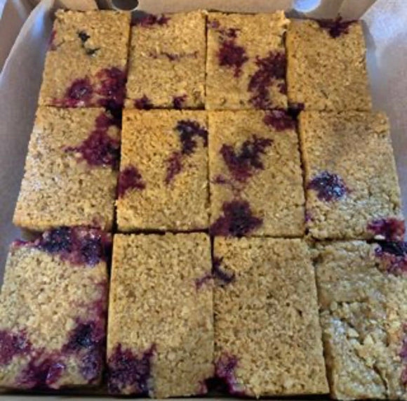 Lemon & Blueberry Flapjack