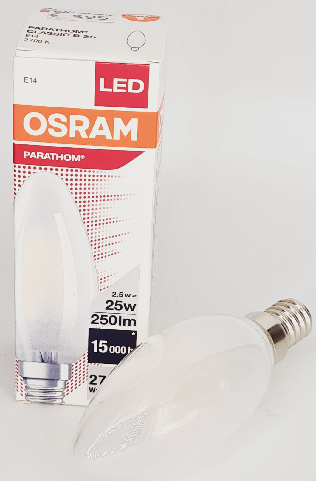 Osram LED Kerze E14 25W/40W/60W Klar/Matt 2700K Warmweiss