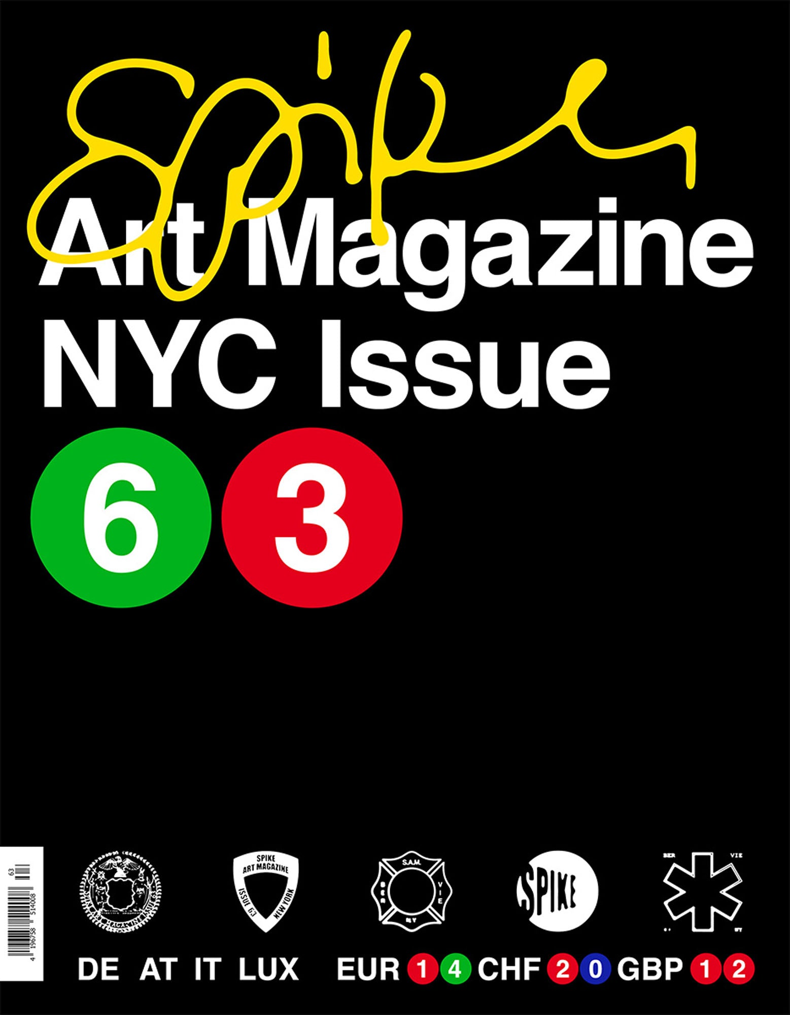 ISSUE 63 (SPRING 2020): The NYC Issue