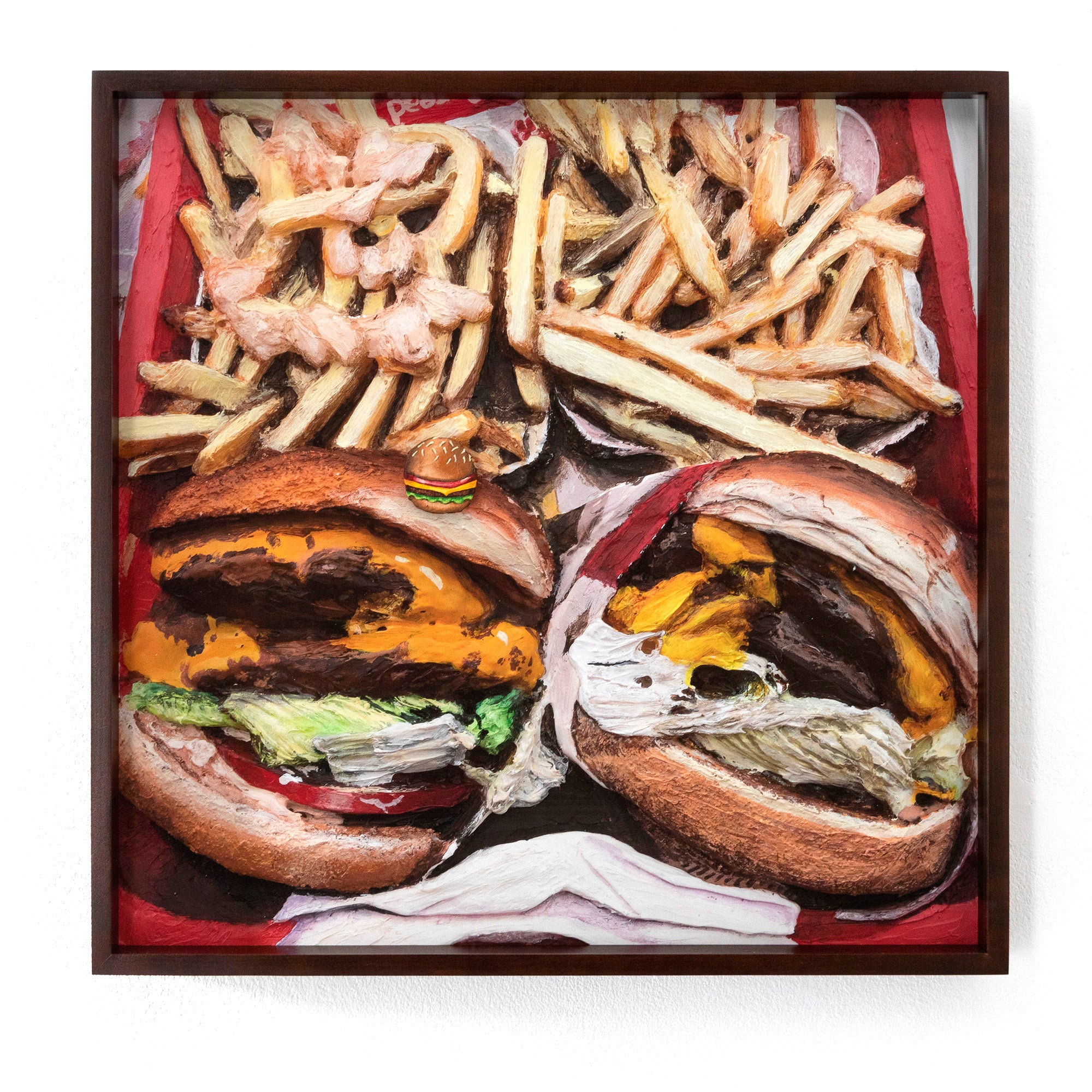 Gina Beavers, »In-N-Out Burger«, 2020