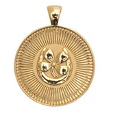 JW Small Pendant Coin