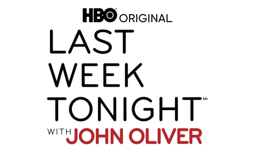 ClothingLast Week Tonight with John Oliver Logo Fleece Hooded Sweatshirt