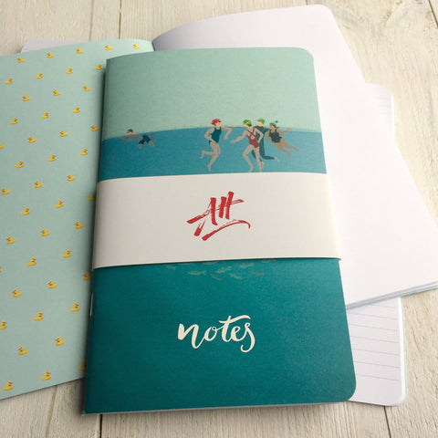 Wild Swimming Notebook. FREE delivery on orders over £30!