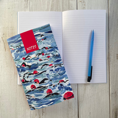 Open water swimming notebook. FREE delivery on orders over £30!