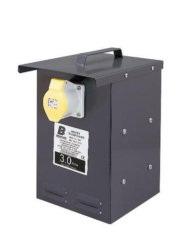 Defender 3kva Metal Heater Transformer