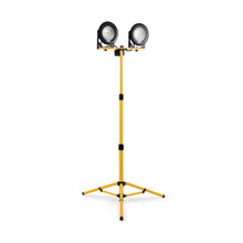 Load image into Gallery viewer, Defender E204060 DF1200 20W LED Twin Head Work Light With Telescopic Tripod