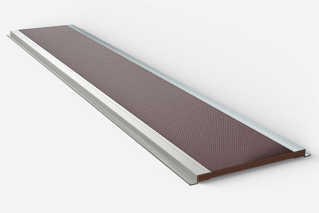 Van Guard Single piece ply roof platform with aluminium side channels - 3000mm long VL254/3000