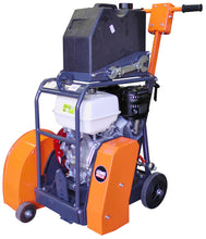 "Load image into Gallery viewer, Belle Duo 350X Micro-Trenching 14"" Twin Blade Floor Saw-13Hp Honda Petrol DSXA01"