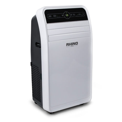Rhino 12000 BTU Air Conditioner 240V 3 IN 1 Cooling Dehumidifier and Fan H03621