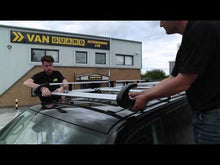 Load and play video in Gallery viewer, Van Guard 7 bar ULTI Rack L2H1 Tailgate Model Vauxhall Vivaro 2001 - 2014 Roof Rack VGUR-004