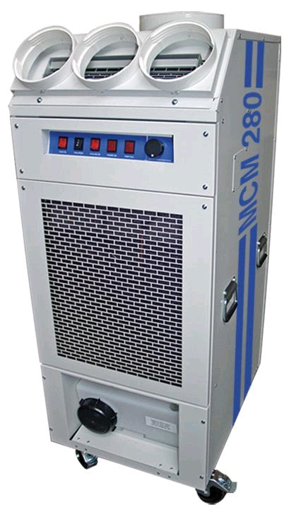 Broughton MCM280PD Power Duct 8.2kw (28000 btu) Industrial High Output Portable Air Conditioning Unit 110v