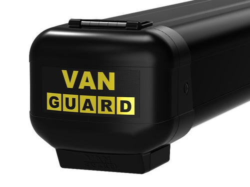 Van Guard Limited Edition 3m BLACK pipe carrier with rear opening VG200-3S-BLACK