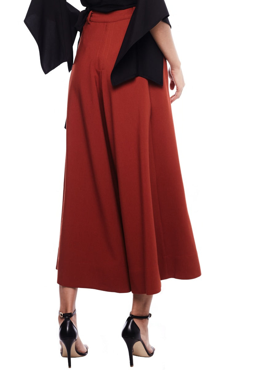 Side Button Culottes