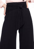 Side Knot Midi Pants