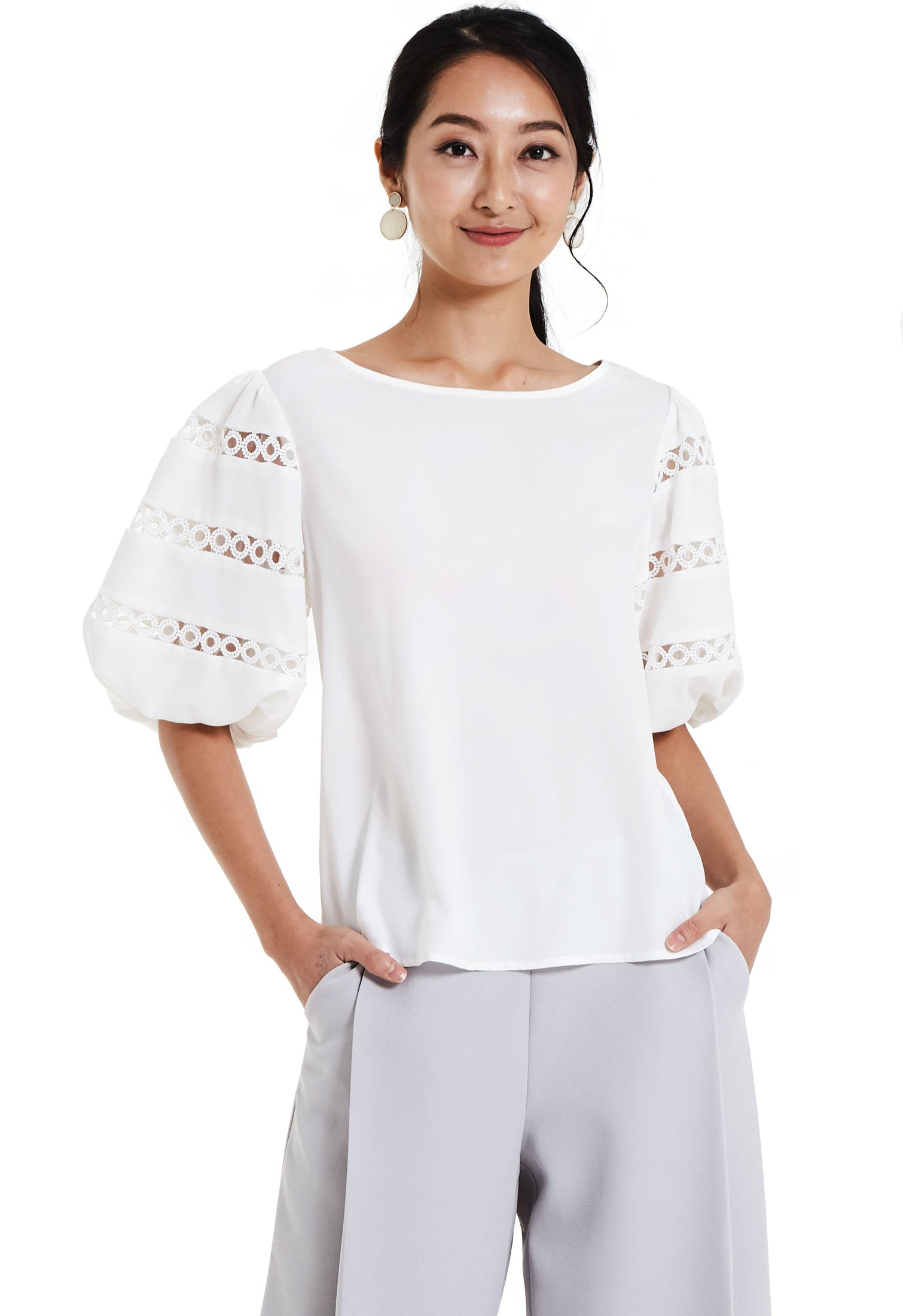 Chic Puff Sleeve Top