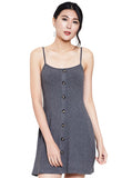 Button Knit Dress