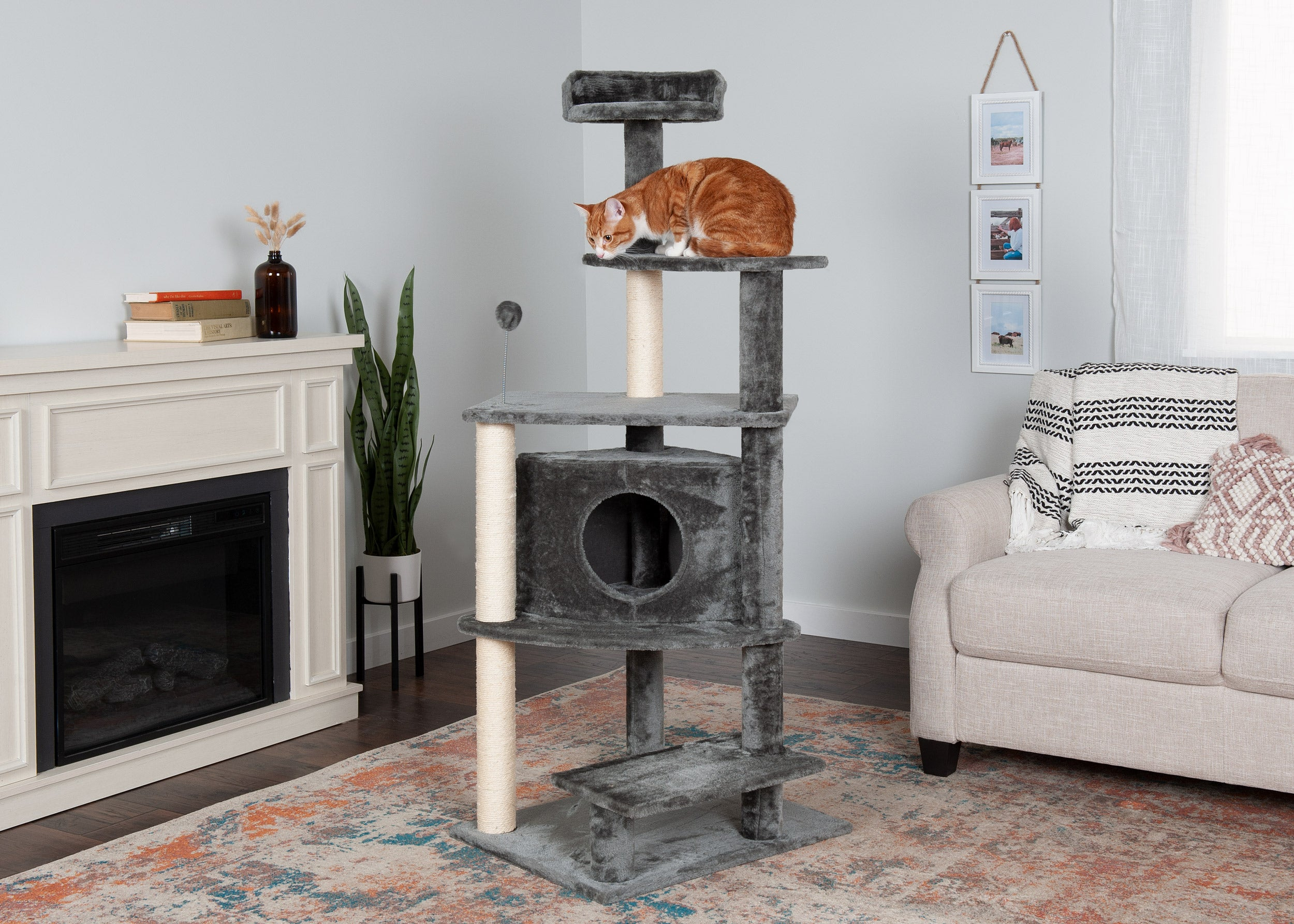 Platform House Playground Furhaven Pet Products