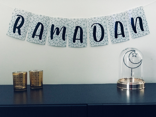 Abstract Arabesque Ramadan + Eid Banner