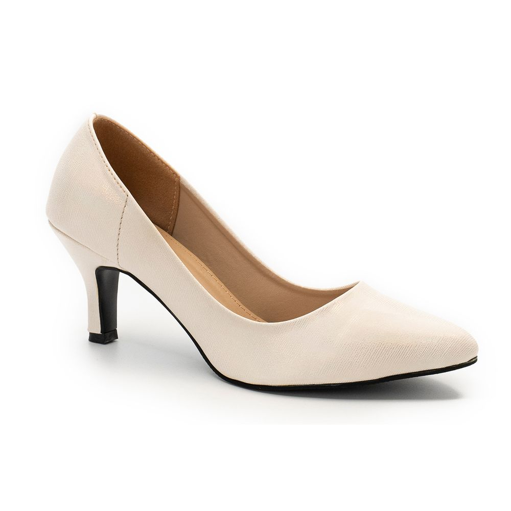 WOMEN BEIGE COURT SHOES LADY32