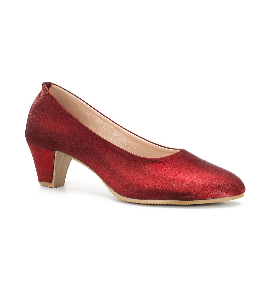 RED WOMEN RED COURT SHOES N781