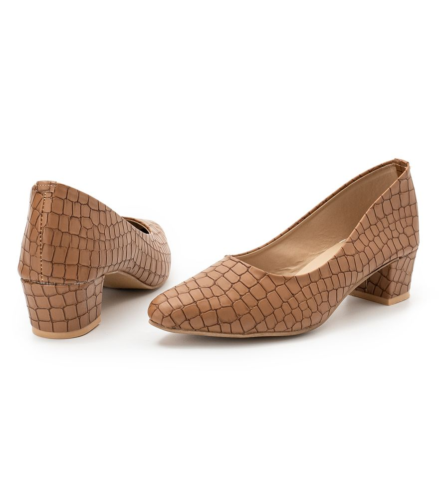 BROWN WOMEN BROWN COURT SHOES LADY167
