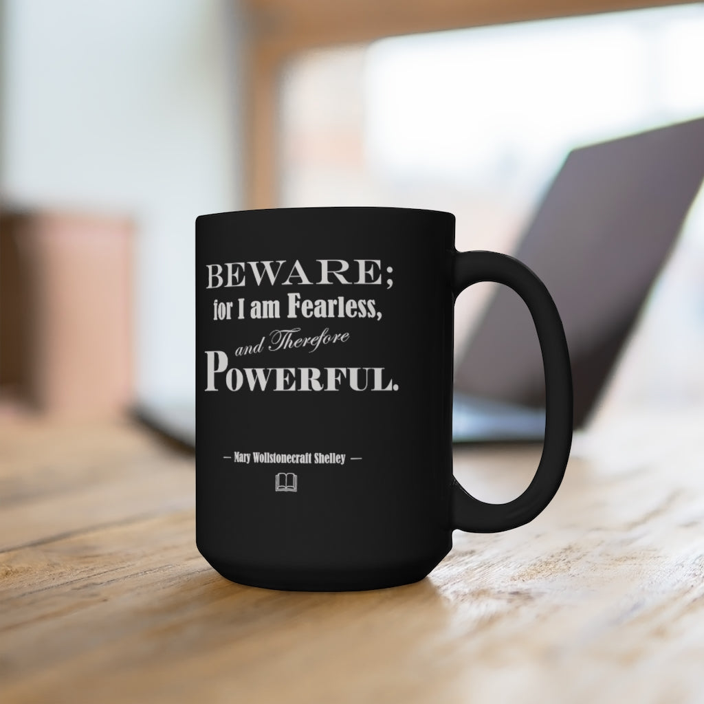 bold statement on a mug for writers