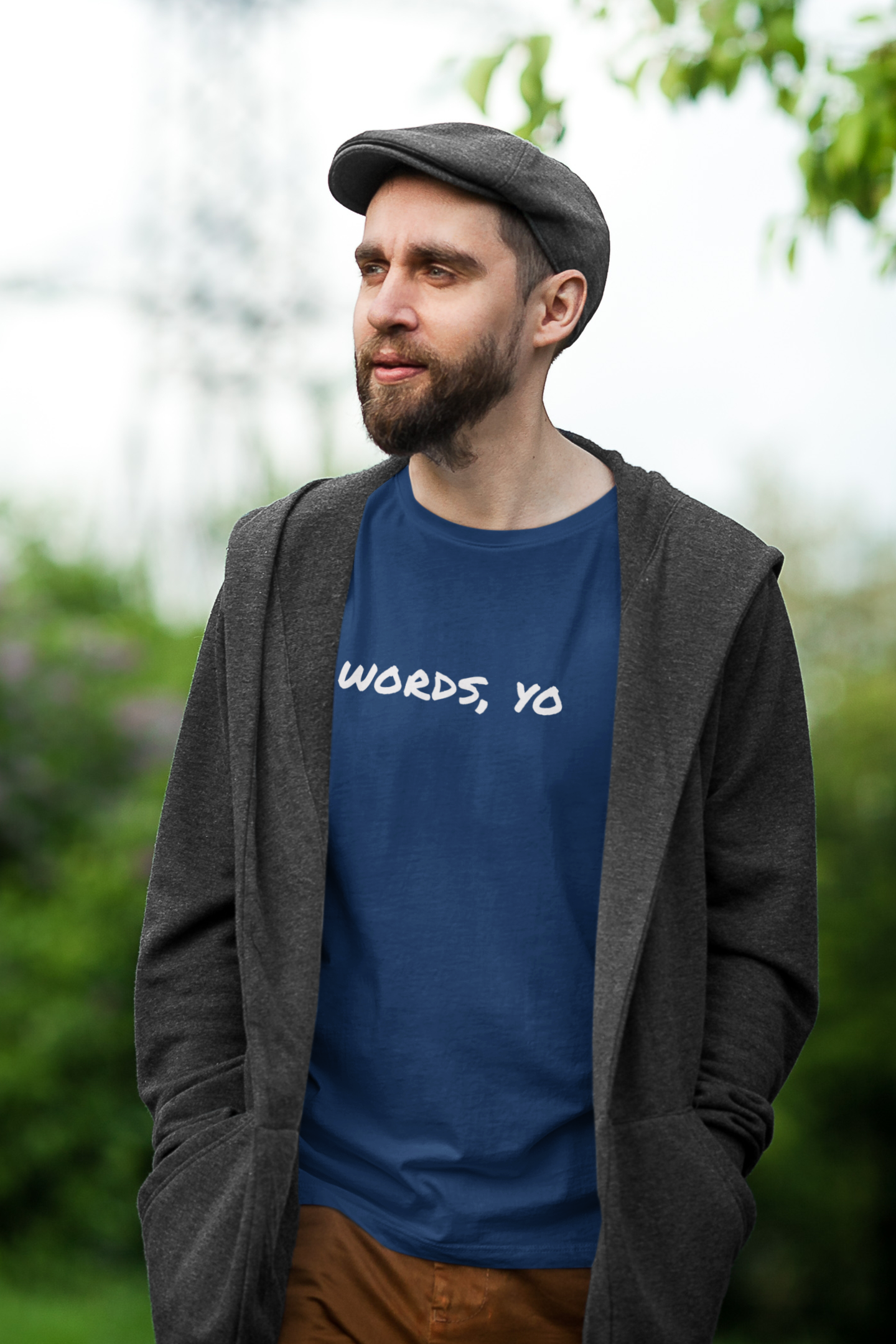 """Words, Yo""<br>Unisex Jersey T"