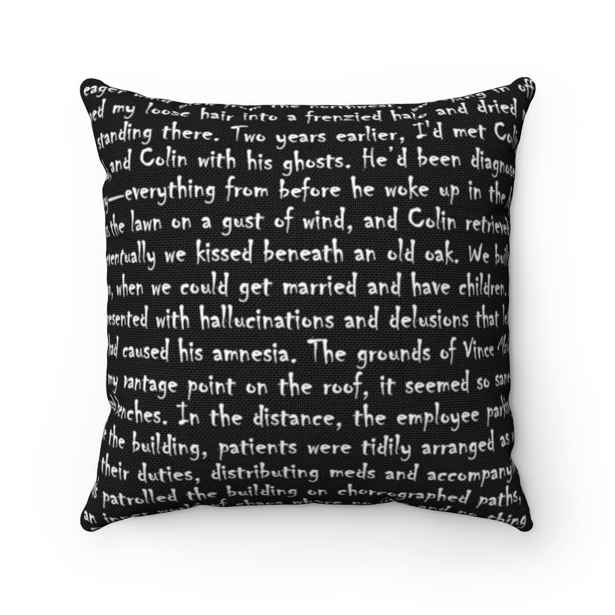 Your Words on a Pillow Cover (personalized)
