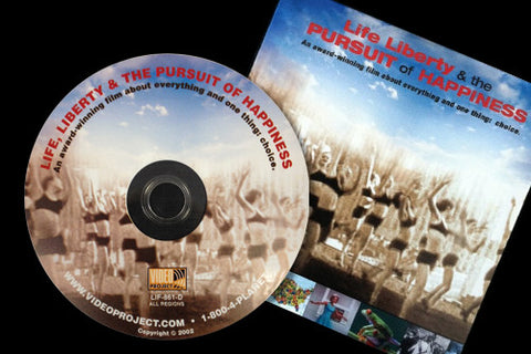 """Life, Liberty & the Pursuit of Happiness"" DVD"